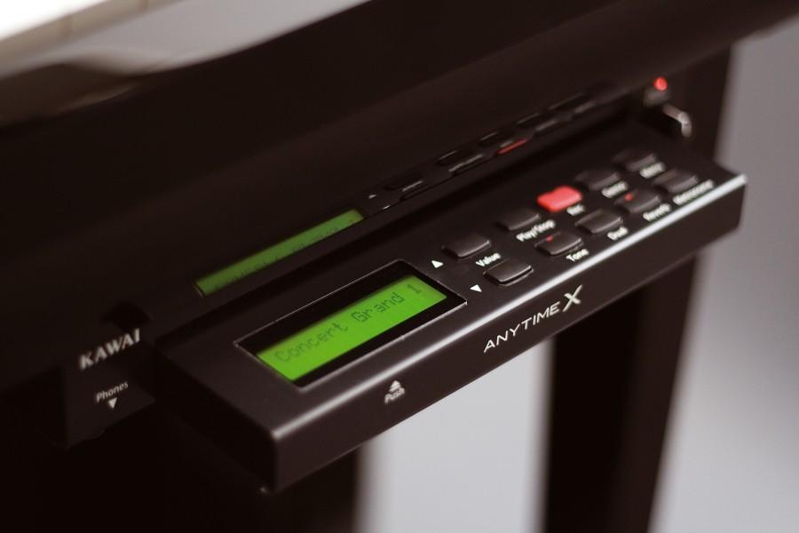 kawai slide out control panel