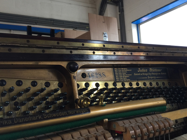 Bluthner Piano Serial Numbers Roberts Pianos