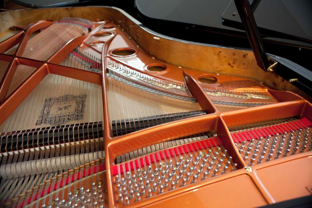 feurich model 218 grand piano soundboard