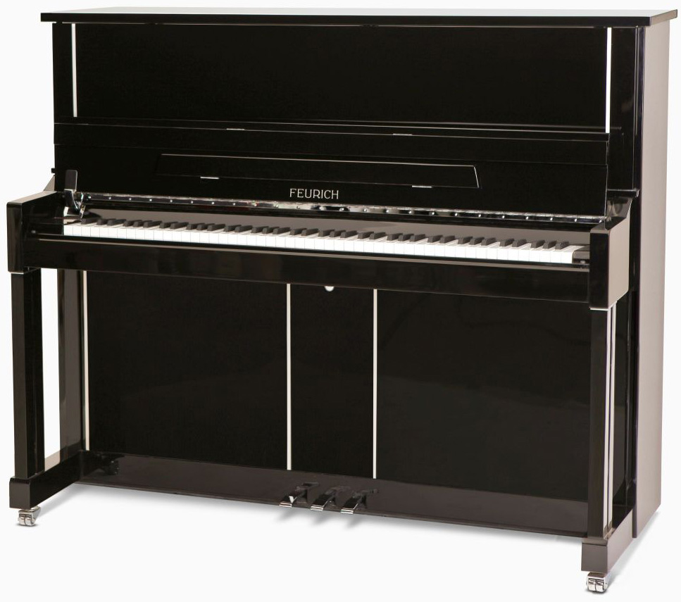 feurich model 122 upright piano