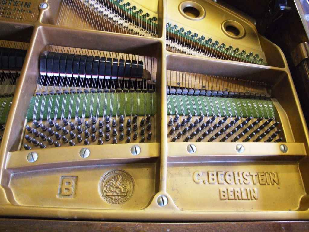 Bechstein B Grand Piano Frame 02