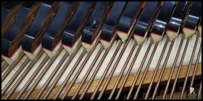 Seiler grand piano celest