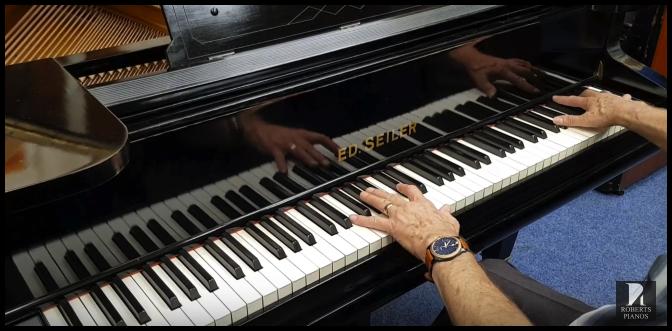 Seiler baby grand piano for sale
