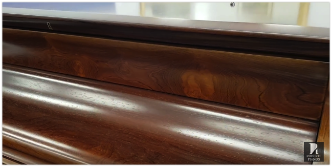 Fine rosewood veneer