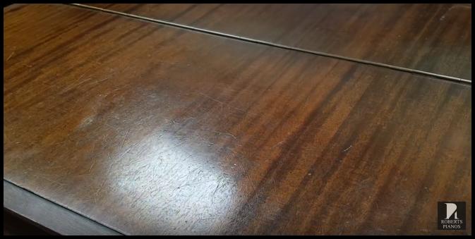 Steinway model M mahogany case grand piano